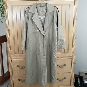 Maggie Lawrence Vintage Trench Coat, sz 6